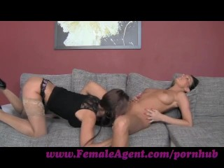 FemaleAgent. Up close and personal
