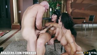 Good cop & bad cop try to fuck a confession out of a suspect  hidden brazzers 6978 big tits brunettes skinny brazzers big dick brunette cowgirl uniform threesome orgasm rough sex bigtitsinuniform bubble butt