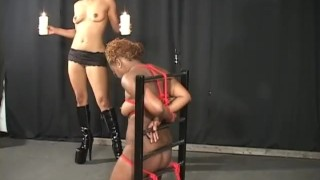 Interracial Bound - Scene 1