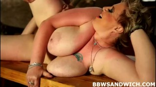 Two super-sized dominas demand worship threesome domination femdom hardcore bbw chubby fat