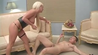 Cock Biting Femdom Castration Fantasies 02 - Scene 1  rough femdom hardcore pornhub.com big tits blonde babe pornstar ball busting kicking slapping busty petite