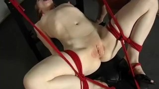 The Domination Of Madison Young - Scene 3 redhead dildo femdom pornhub.com rope face sitting canadian asian big tits vibrator stockings skinny tied up fuck machine high heels busty pussy licking