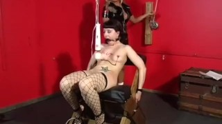 The Domination Of Jezebel Knight - Scene 1  big tits high heels raven girlongirl dildo femdom canadian asian vibrator slapping fingering pornhub.com fencenet natural tits nipple clamp