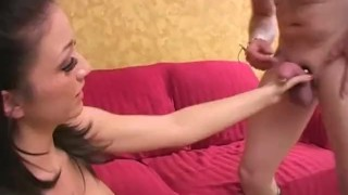 Cock Biting Femdom Castration Fantasies 02 - Scene 2  bj big-tits boots femdom mom blowjob kicking busty hardcore cock sing brunette biting mother pornhub.com ball busting