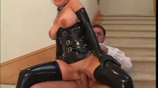 Latex House Wives - Scene 5  big tits ass fucking ass big cock blonde mom blowjob cumshot big dick heels cougar latex shaved mother ponytail deepthroat facial pornhub.com huge tits