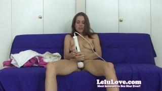Lelu Love-Cuckolding Fantasies Vibrator Masturbation  homemade masturbation cuckolding cuckold hd amateur fetish vibrator lelu solo 1080p hitachi lelu love
