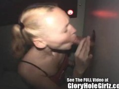 Liv Wylder Frist time at the glory hole