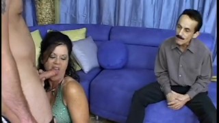 Cuckold MILFs - Scene 2  femdom pornhub.com mom blowjob cougar shaved cumshot mother cuckold natural tits big dick busty facial