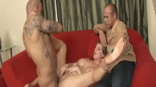 Cuckold MILFs 3 - Scene 4 bbc pussy-eating pornhub.com wife curvy big ass blowjob riding huge-cock cougar mother big-tits brunette cuckold cum shot doggy sideways