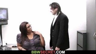 Married boss seduces his fat ebony secretary  big ass large ladies large breasts chunky huge boob bbw cuckold amateur cheat chubby fat busty plump big butt huge tits