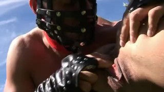 Wet Latex Dreams 12 - scene 1  raven pussy-eating spanking big-cock outside boots femdom blowjob big-boobs skinny mask heels latex shaved whip pornhub.com