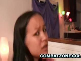 Asian teen Amia Liu wants some hard dick today