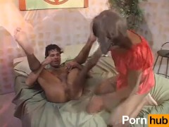 FUCKED BY A BLACK TRANSVESTITE 1 - Scene 2
