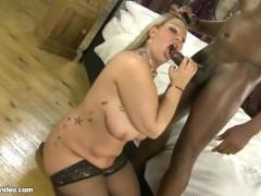 Busty British BBW MILF Dani Amour Fucks Omar's Huge Black Cock
