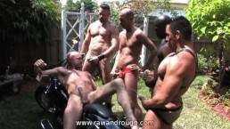 Outdoor Piss Orgy