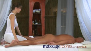 Massage Rooms Big cock therapy by masseuse with big tits