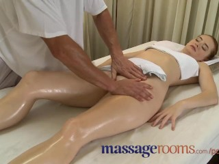 Massage Rooms Incredible Young Woman Serviced then ...