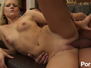 Wife sucking another guy's cock