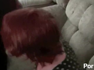 Redhead Teen Just Keeps Coming Back For More