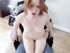 Slutty Step Sister Gets Spanked And Fucked