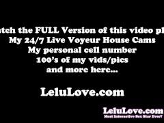 Lelu Love-Multiple Cum JOE POV Dildo