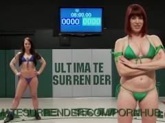 Lesbian Wrestler Destroys Her Opponents Pussy