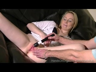 Made to Orgasm - The Camera Man Stimulates their Clits they They REALLY Cum