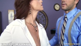 Preview 1 of Busty FBI agent Syren De Mer fucks information out of her suspect
