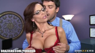 Preview 2 of Busty FBI agent Syren De Mer fucks information out of her suspect