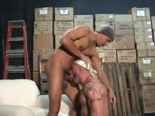 Antonio and Marco Stockroom Romp