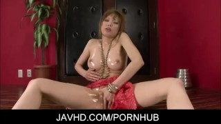Nasty asian hot milf Ai Sakura rides a dildo japanese toys milf sex toy babe fingering adult toys
