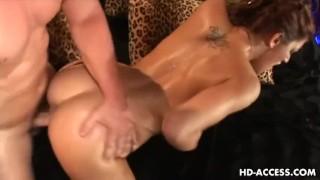 Huge tits Eva Lawrence big cock fucking!