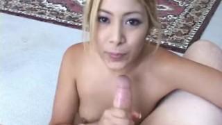 Preview 5 of Asian cutie sucks a small cock