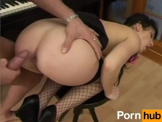 Gorgeous Round Ass Gets Fucked