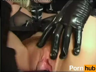 Girl In Latex And Mask Gets Fucked