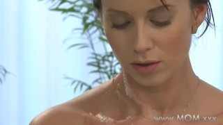 Preview 2 of MOM Couple make love in a hot tub