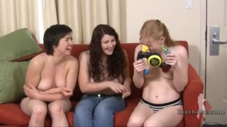 Strip Fuck-It with Claire, Elizabeth, and Julie