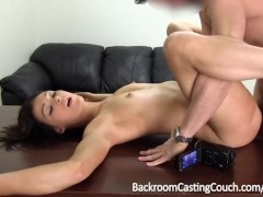 Fit Teen Assfucked and Facialed
