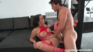 LiveGonzo Katsuni Brunette Asian asking for a Creampie tits dick sexy asian boobs blowjob hot slut beautiful creampie pussy small-ass big-dick brunette skinny livegonzo french