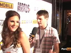 PornhubTV Phoenix Marie PT1 Interview at 2012 AVN Awards
