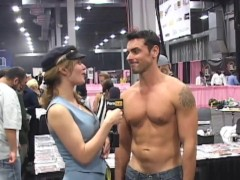 PornhubTV Ryan Driller Interview at eXXXotica 2012