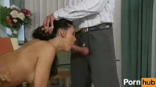 Gimme Two Dicks  big tits raven hungarian cumshot skinny hardcore brunette heels european facial pornhub.com face fuck bald pussy titty fuck fake tits