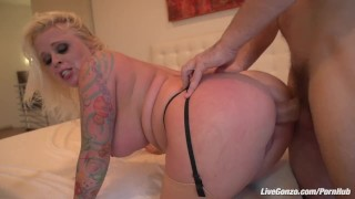 big-dick bbw anal chubby curvy boobs tits blonde tattoo sex fucking sucking livegonzo huge-dick porn hard milf mom
