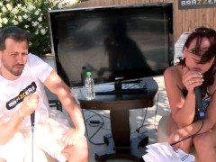 Brazzers LIVE Pool Party – NEXT Show is 04-30-13 4pm EST 1 pm PST