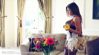 Preview 3 of FANTASY HD French Maid fucked while she works