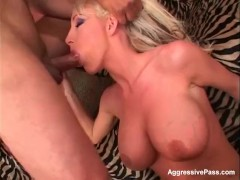 Big Breasted Nadia gets her pierced pussy poked