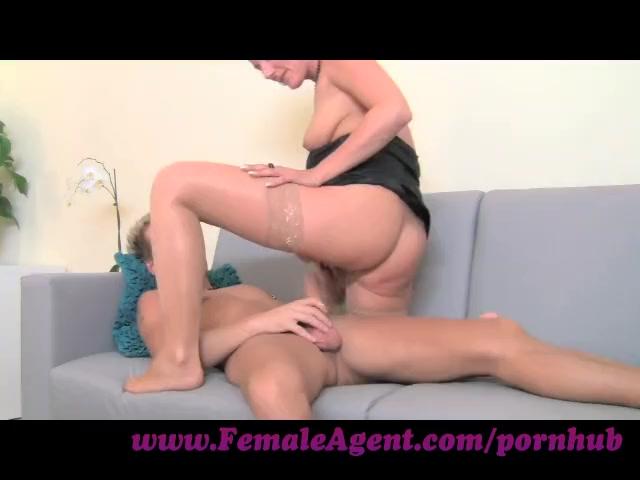 FemaleAgent. MILF with amazing cowgirl skills