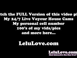 Lelu Love-POV Cameltoe Slide Cheating