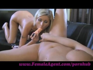 FemaleAgent. See what an agent sees