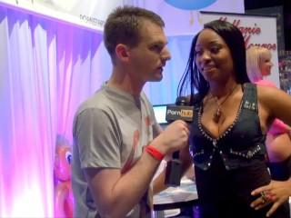 PornhubTV with Imani Rose at eXXXotica 2013